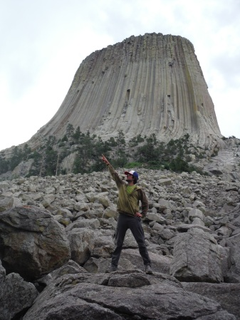 Devil's Tower.