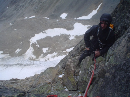 My first technical alpine climb was a two-day blitz in the Beartooth Mountains of Montana with Loren Rausch: the Chadwick-Bowman Route on the north face of Granite Peak.