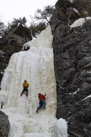 Following Jon's lead up a fun WI4.