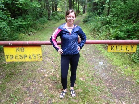 Apparently Kelly is persona non grata in the Olympic Mountains.