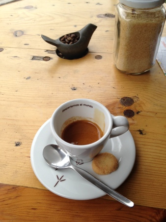 Endless cups of espresso at Puku Puku Cafe.