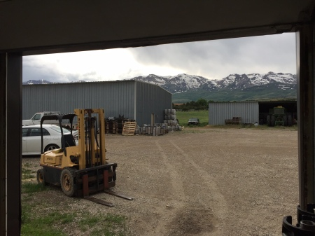 The view out the front door of one of the coolest breweries I have ever been to. Ruby Mountain Brewing Company is owned and operated by a rancher who occasionally takes days off both jobs to ski in his backyard mountain range.